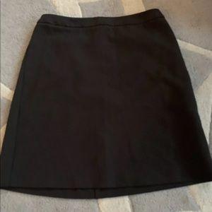 Joe Fresh black skirt size 0 above the knee